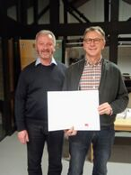 vlnr: Uwe Schmidt und Peter Becker