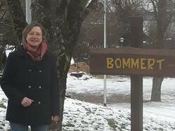 Karin Küsel besucht in Hilgert den Bommert